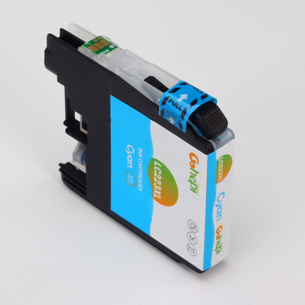 Gohepi LC223XL 1 Set Compatible Ink Cartridges for Brother