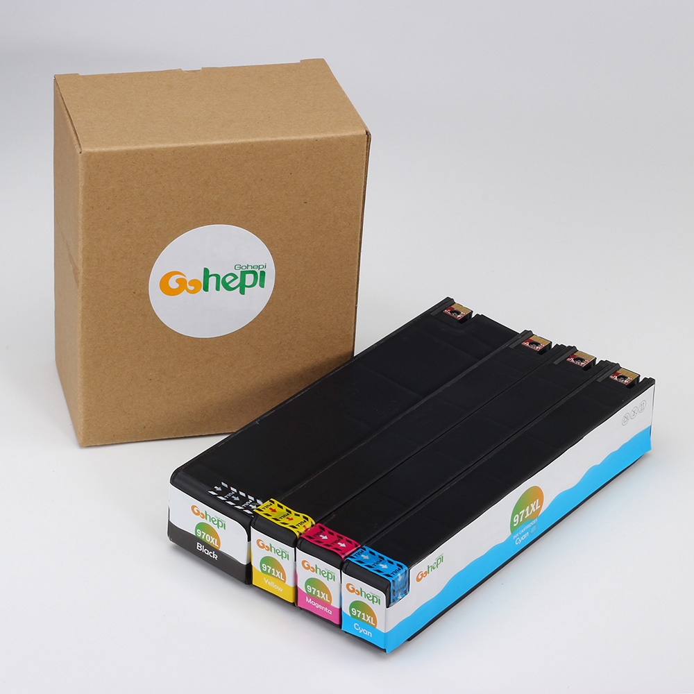 Gohepi 970 1 Set Compatible Ink Cartridges for HP
